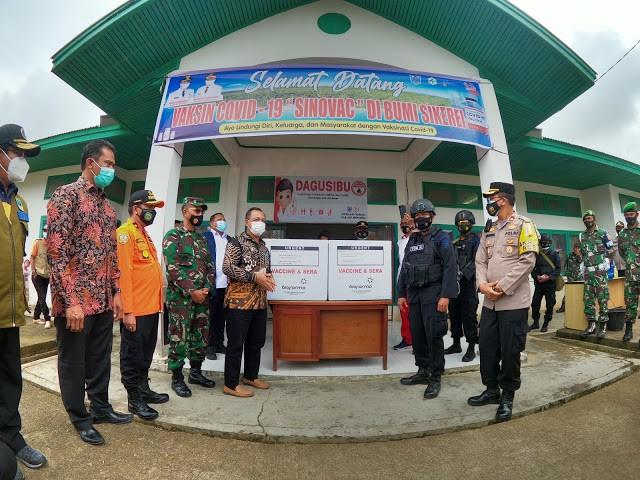 Vaksin Covid-19 Tiba di Mentawai, Ini Kata Wabup Kepulauan Mentawai