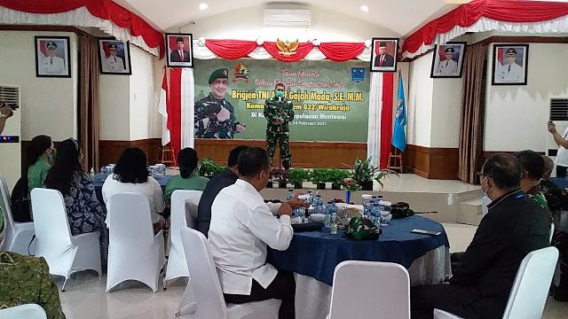 Brigjen TNI Arif Gajah Mada: Saya Ingin Melihat Langsung Mentawai