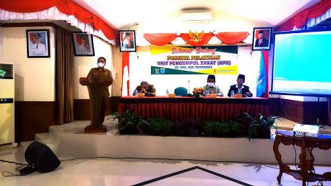 Sekda Mentawai Harapkan UPZ Rutin Melakukan Pungutan Zakat di OPD