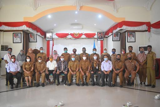 Balai Pemerintahan Desa Lampung Gelar Kunjungan Kerja di Kabupaten Kepulauan Mentawai